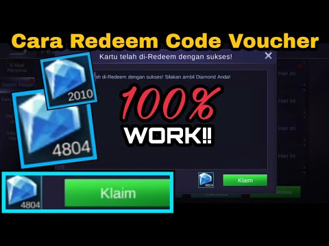 TUTORIAL REDEEM CODE VOUCHER DIAMONDS | MOBILE LEGENDS | INDONESIA