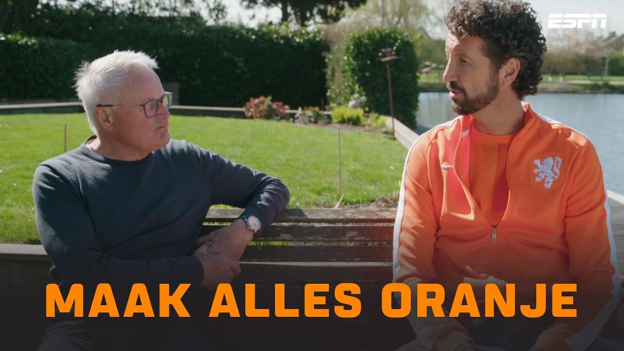 MAAK ALLES ORANJE 🦁    Jan Joost peilt Oranjekoorts 🧡🌡