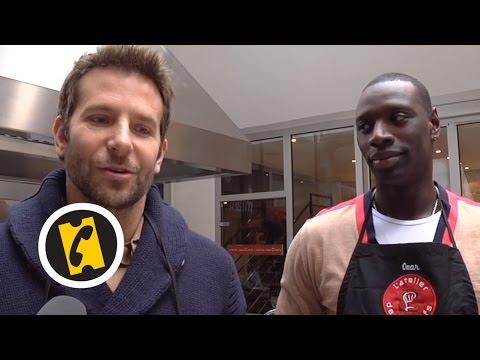 En cuisine avec Bradley Cooper et Omar Sy  A Vif !  2015