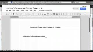 Compare contrast essay hurricanes tornadoes