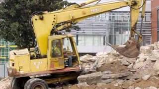 V akci na stavbě Univerzitního kampusu Bohunice.