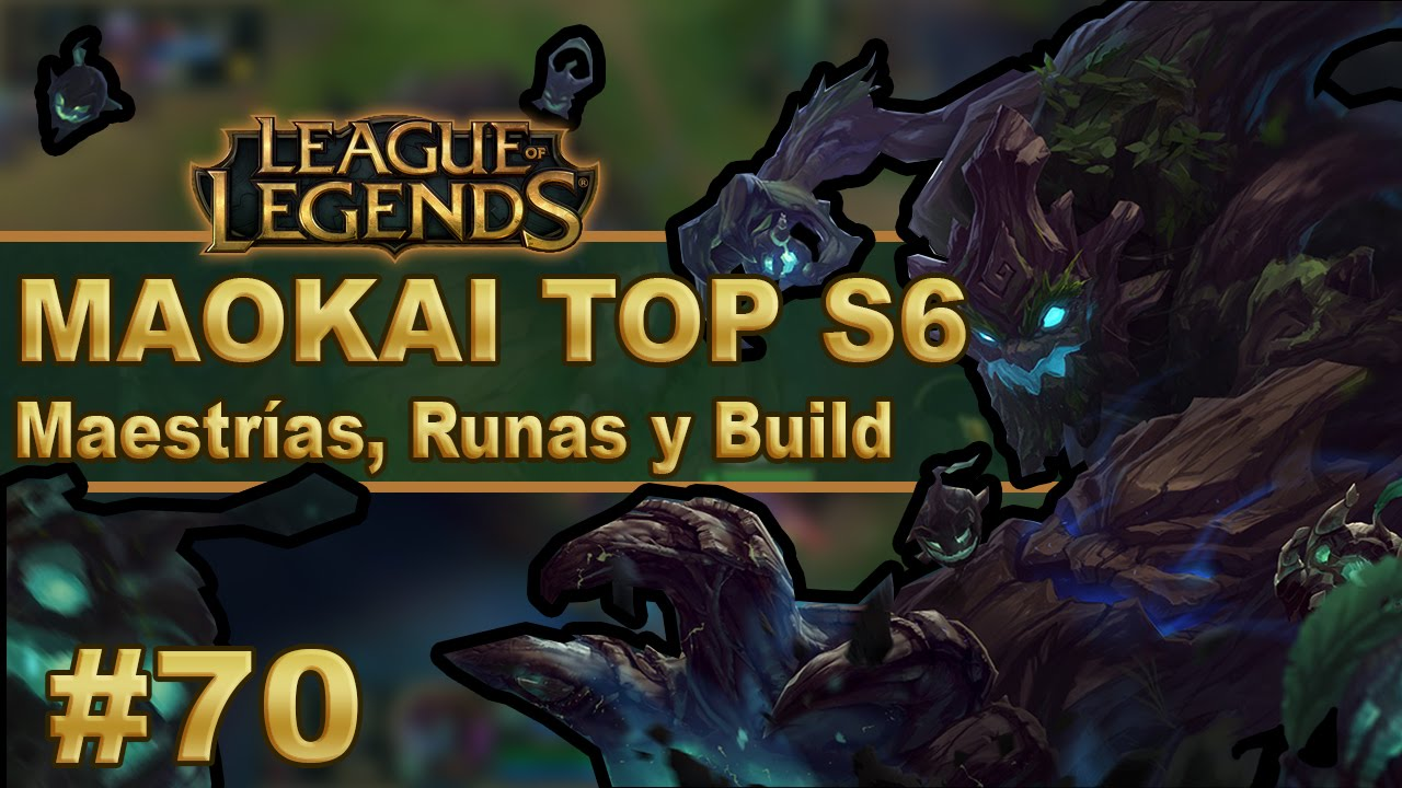 Maokai Top Build