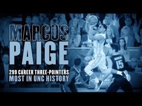 Carolina Basketball: All 299 of Marcus Paige's Career Record 3-pointers