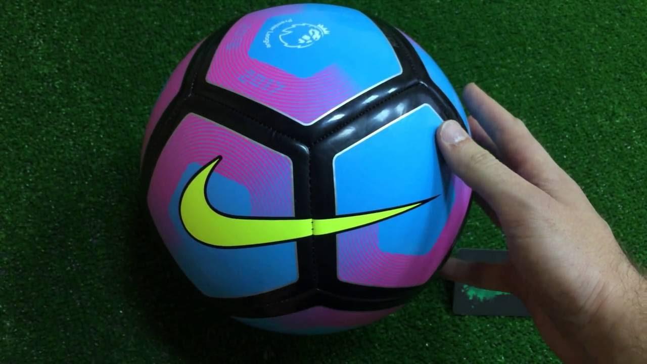 Обзор на футбольный мяч Nike Pitch из АПЛ - YouTube