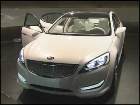 New Kia Cadenza Sedan 2010 Youtube