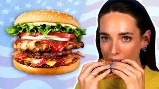 Download Irish People Try American Burgers