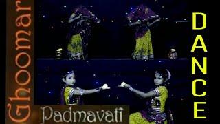 Padmavati : Ghoomar Song Dance Choreography | Deepika | Cute Kids | Somya Tiwari | Saptami Mall