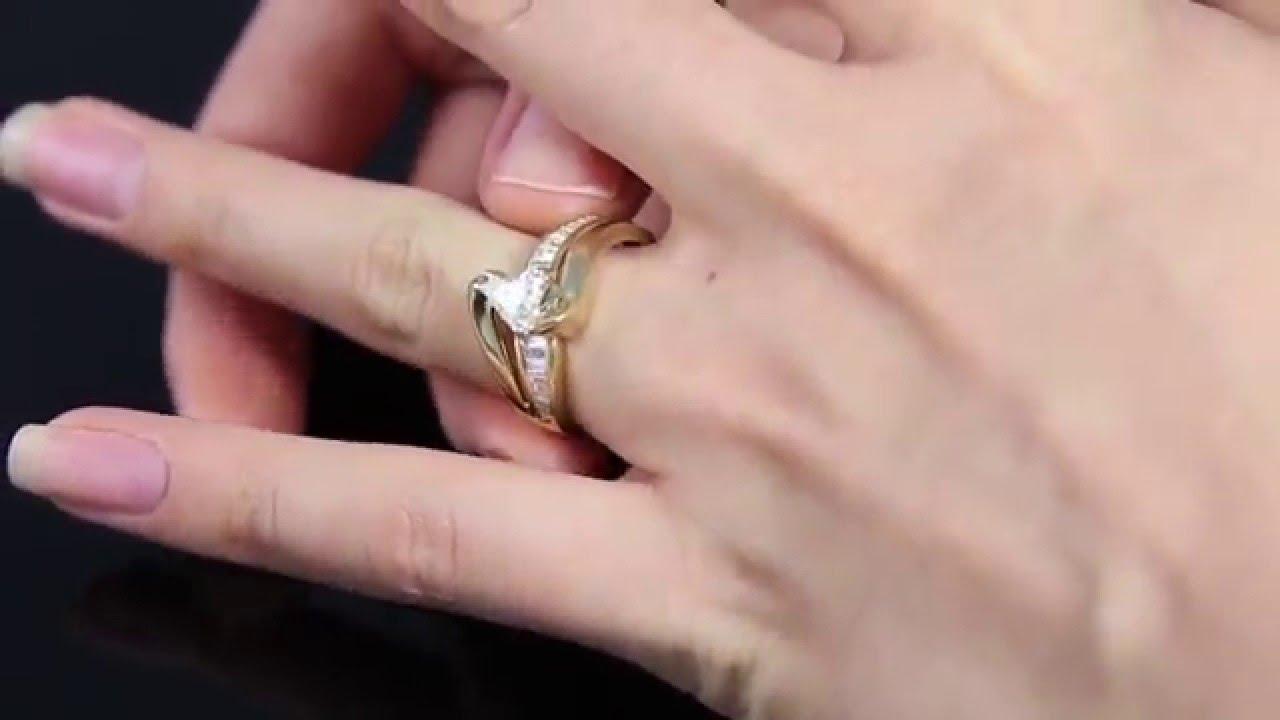 1 72CT Estate Vintage Trillion Solitaire Diamond Engagement Wedding ...