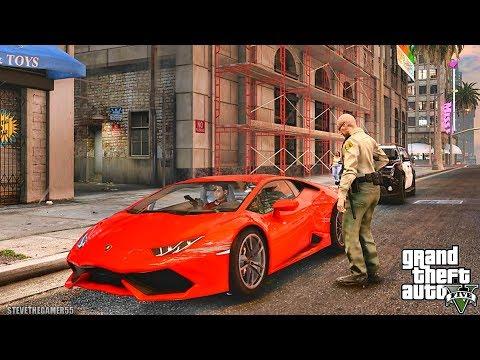 GTA 5 REAL LIFE CJ MOD #106 - TAKE THE GIRLS HOME!!!(GTA 5 REAL LIFE MODS/ THUG LIFE)