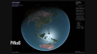 Future Earth in Celestia