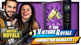 DISTRIBUTEUR ÉPIQUE DE QUADRILANCEUR ! CA VA PETER ! | FORTNITE DOMINATION DISCO DUO FR