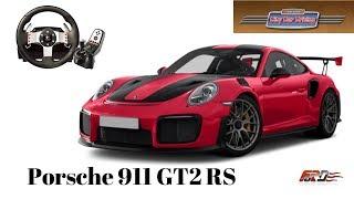 [ City Car Driving ] - Porsche 911 GT2 RS - тест-драйв, обзор Logitech G27