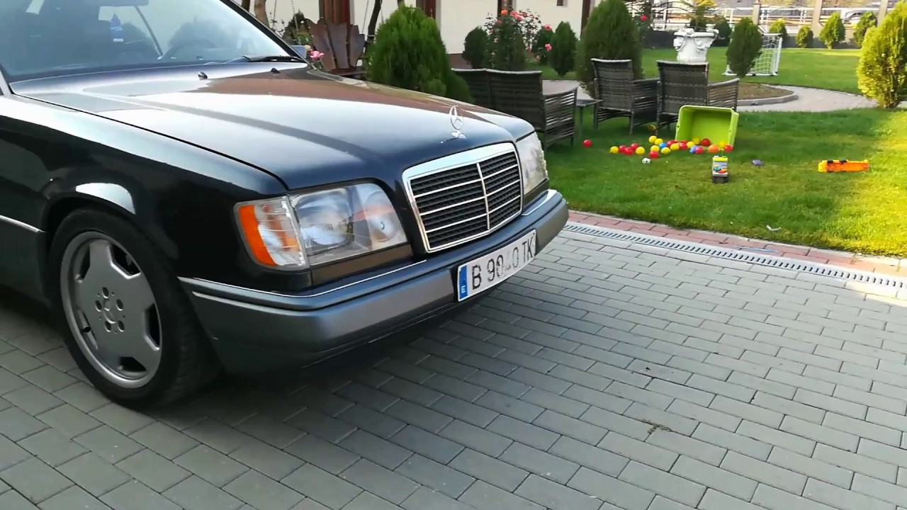 Mercedes Ce320 W124 Coupe Leather Interior Youngtimer Youtube