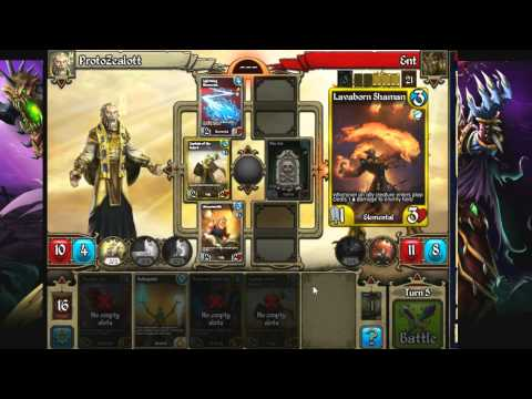 Kingdoms CCG Gameplay