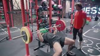 Готовлюсь в МС по тяжелой атлетике. Тренировка с Владиславом Ригертом
