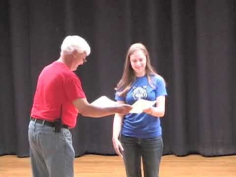 Ponca City East Middle School Academic Awards May 2014