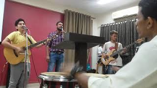 Kafara mera tu hi hai, cover by Darshan and group