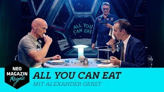 All You Can Eat mit Alexander Gerst UNCUT | NEO MAGAZIN ROYALE mit Jan Böhmermann - ZDFneo