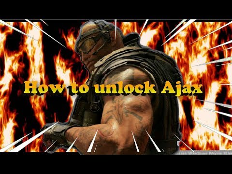 Black Ops 4 How to unlock AJAX Specialist on BLACKOUT