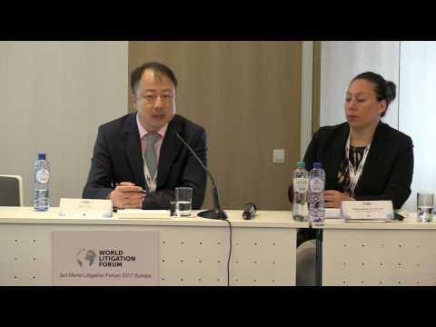 Haibin Xue - 3rd World Litigation Forum 2017 Europe
