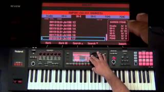Easter Egg!!! How to load Integra synth collections inside FA-06/08