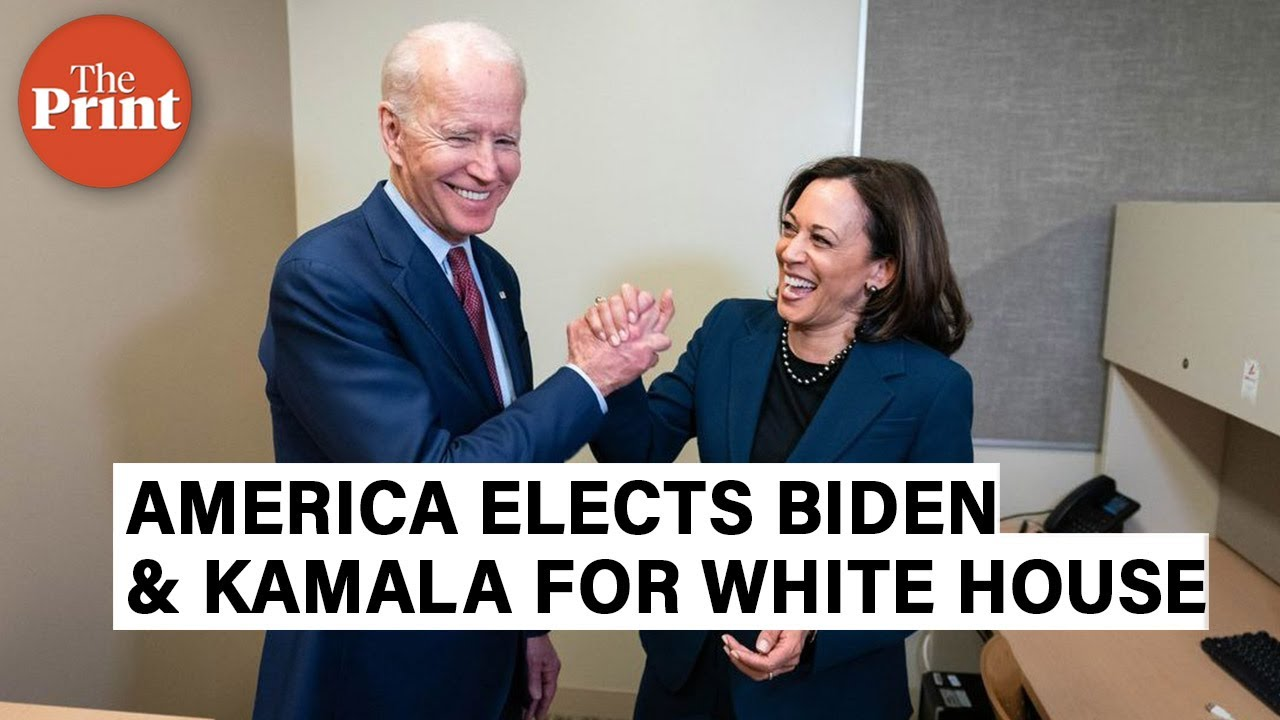Joe Biden is 46th US President, Indian-origin & VP-elect Kamala Harris says 'We did it.'
