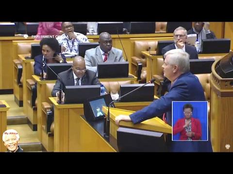 """""""Jacob Zuma Dont Like White People"""" FF PLUS Hon Groenewald"""