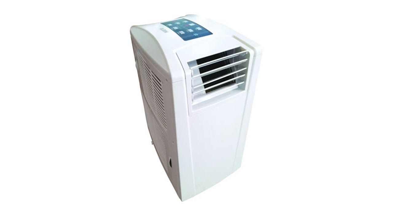 e26307177 Ar Condicionado Portátil Elet. 9000 BTUs Elgin Quente e Frio MAF 9000 Branco