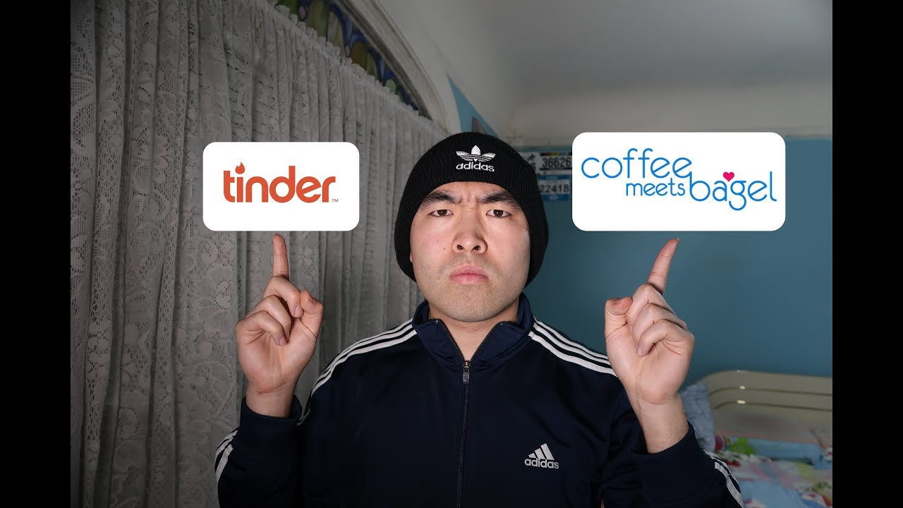 Tinder vs coffee meets bagel