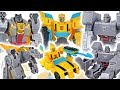Transformers Cyberverse scout class Bumblebee, Grimlock! Defeat Megatron, dinosaur! #DuDuPopTOY