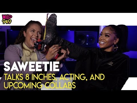 """Saweetie on Being from The Bay, """"8 Inches"""" Pregnancy, and MORE!"""