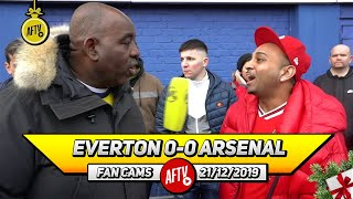 Everton 0-0 Arsenal | I Wanted Pochettino But I'll Back Arteta Now He's In Charge