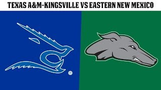 FB: Texas A&M-Kingsville vs Eastern New Mexico