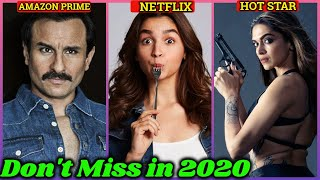 10 Best Upcoming Web Series in 2020 | Must Watch | Amazon Prime, Netflix, Alt Balaji, Hotstar