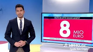 Lotto 6 aus 49 - Ziehung der Lottozahlen