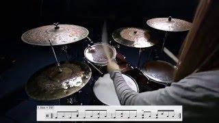 DRUM LESSON  Travis Barker technique  Not Now by blink 182