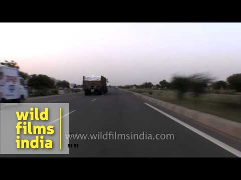 Driving on National Highway No. 8 (NH8)
