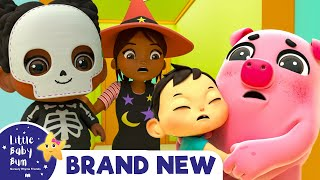 Halloween Dress Up! Time for Trick or Treat | Nursery Rhymes & Kids Songs | Little Baby Bum