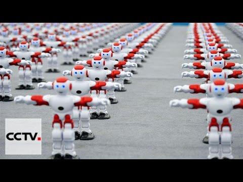 Shandong robots set new world record