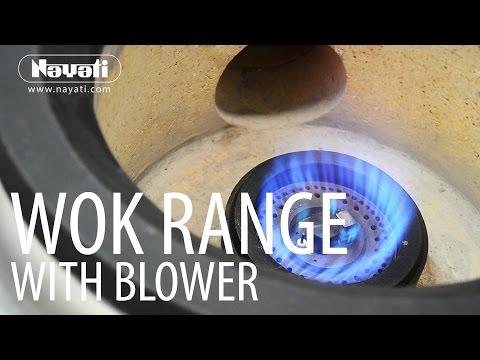 Oriental Cooking Nayati Wok Range With Blower