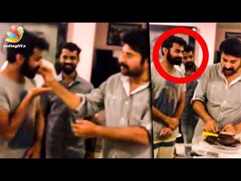 പ്രണവിന് മധുരം നൽകി മമ്മൂട്ടിയുടെ ക്രിസ്മസ് |Mammootty, Pranav celebrate Christmas together| Video