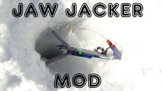 Jaw Jacker Ice Fishing Modification - Fishing Tip for Lite Biters