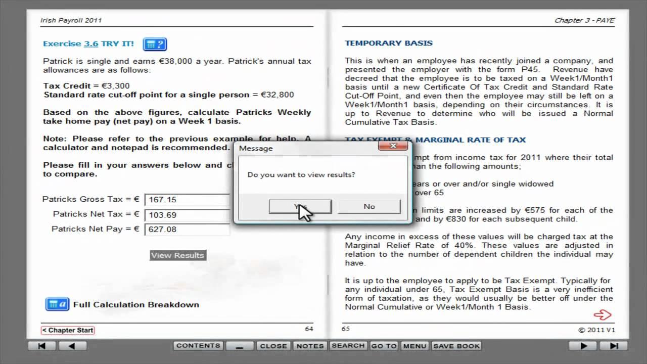 Personal income tax calculator 2011.