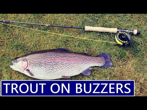 Fly Fishing Trout Buzzers | Pennine Trout Fishery UK Pt2