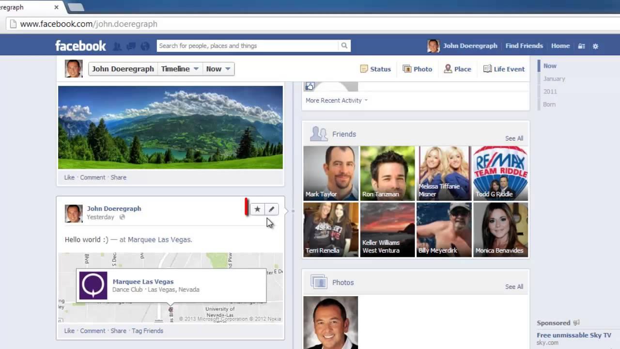 Facebook Social Media Platform Similar to Twitter