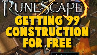 How to get 99 Construction for free - Money Making Guide 2015 - iAm Naveed Runescape