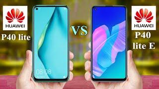 Huawei P40 lite vs Huawei P40 lite E | Huawei Mobile COMPARE
