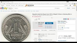 One Rupee Coin Can Make You Crorepati