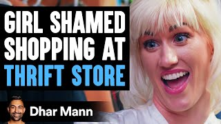 This Mean Girl Shames Friend For Shopping At Thrift Store | Dhar Mann