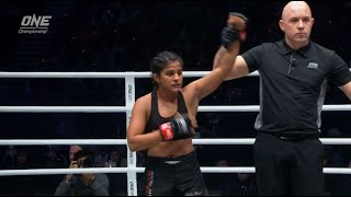 ONE Championship: Relive Ritu Phogat's win